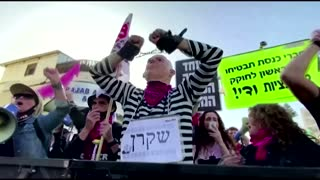 The men scheduled to unseat Netanyahu