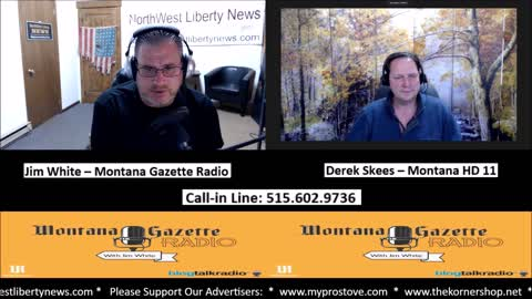 Montana Gazette Live - Derek Skees and Randy Pinocci