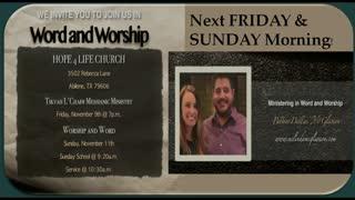 Guest Speaker Pastor Dallas McGlasson