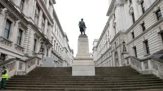 Imágenes de estatuas colonialistas en Londres