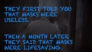 Still wearing your mask