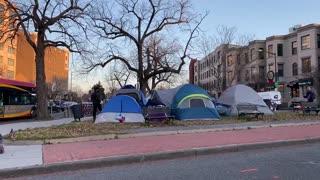 美國🇺🇸 華盛頓-這些帳篷⛺️不知駐紮什麼人