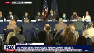 President Trumps legal team hearing in Pennsylvania