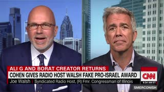 Joe Walsh recounts how he was pranked by Sacha Baron Cohen
