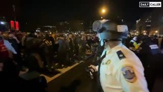 D.C. Metro Police Pepper Spray Trump Supporters
