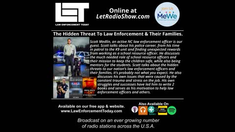 The Hidden Threat To Law Enforcement & Their Families.