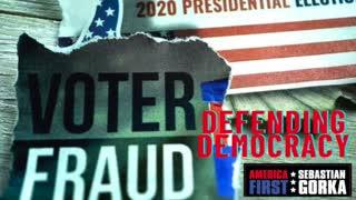 Defending Democracy. Jenna Ellis with Sebastian Gorka on AMERICA First
