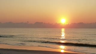 Sunrise at NC beach