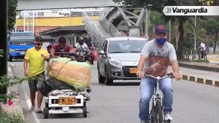 Peatones y motociclistas, los que más mueren en las vías de Bucaramanga