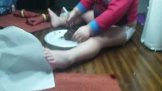 Chocolate wasted birthday boy