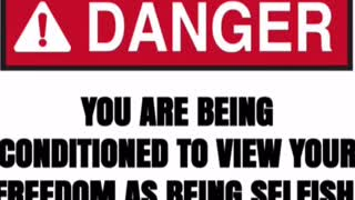 Freedom caution
