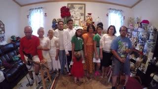 """The Galoshes"" short scene for Christmas Filipino singing"