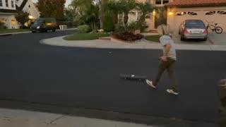 Skateboard Rocket Test 1