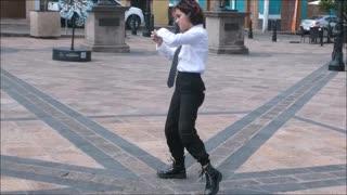 LIVE Pop and Robo-Dancing in Queretaro, Mexico