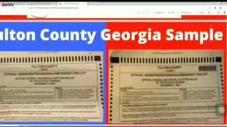Georgia Ballots LACK Barcodes - Different Ballots
