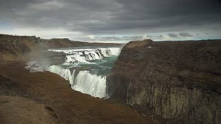 Nature Waterfall Iceland