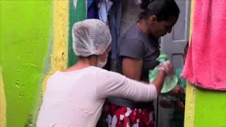 Favelas de Sao Paulo combaten contra el Coronavirus