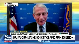Tucker RIPS Fauci: He's Disqualified Himself as a Scientist