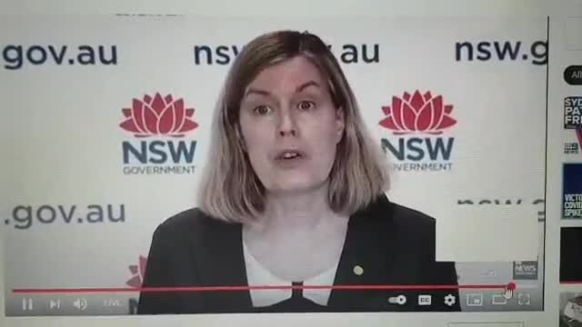 Australian public health chief mentions New World Order in public