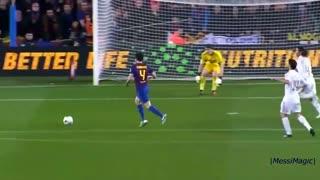 Lionel Messi ● Passing Skills vs Real Madrid