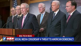 Social media censorship a threat to American democracy