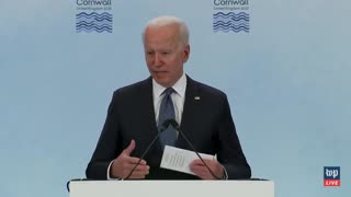 Biden Confuses Syria With Libya 3 Times Within 90 Seconds, They're Not Even On The Same Continent