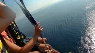 Parachute Cable Snaps during Parasailing Venture