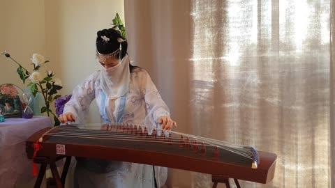 梁祝#The Butterfly Lovers#何占豪、陈钢曲#袁莎改编#古筝Guzheng Cover#纯筝版#Zither Melody#Chinese Classical Music