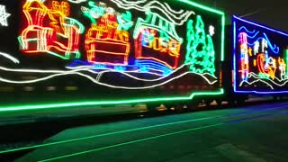 Holiday Train Rolling Through Town