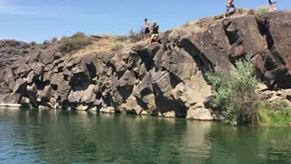 Cliff Jumping Twin Falls, ID