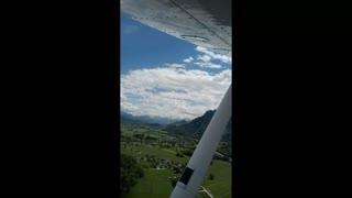 Salzburg Airport Approach