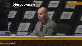 Vaccine Passports in Orange County California Speaker 8