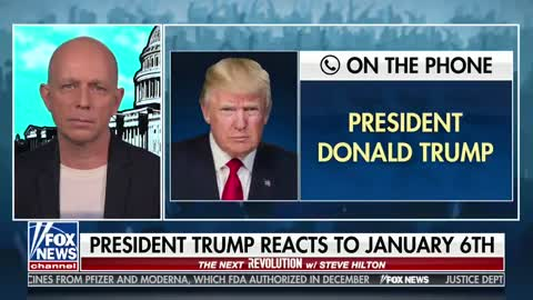 Trump: I Wanted to Deploy National Guard on Jan 6 - Pelosi Blocked It