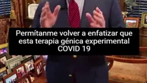 """Médico estadounidense explica los efectos la """"vacuna"""" COVID o """"TERAPIA GENÉTICA EXPERIMENTAL"""""""