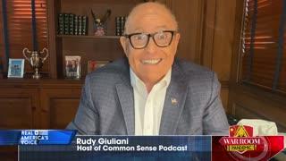Rudy Giuliani on treacherous Bill Barr