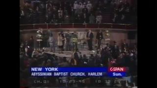 Disturbing Video: Fidel Castro receives standing ovation at church of Raphael Warnock