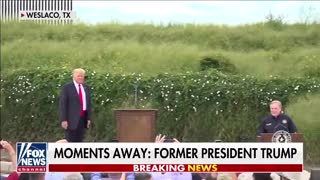 Donald Trump speaks out after visiting southern border in 'Hannity' exclusive