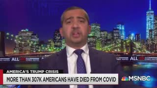 MSNBC Goes Off the Rails, Says Trump Should Be Prosecuted for COVID-19 Deaths