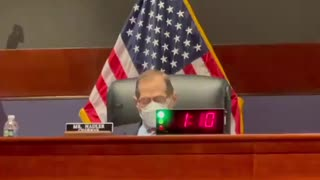 Jerry Nadler FALLS ASLEEP in the Middle of a Hearing in EMBARRASSING Moment