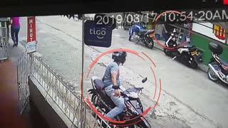 Video: Hombre disparó contra la Policía para evitar ser capturado en Floridablanca