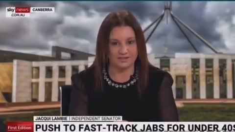 Australian Senator Threatens Covid Unvaccinated