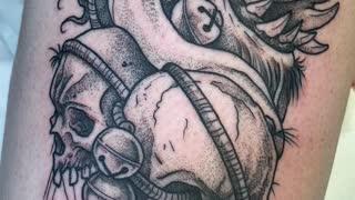 Krampus Tattoo / Joshua Belanger