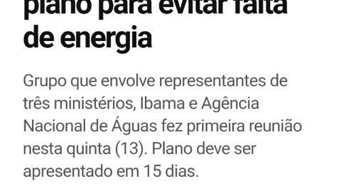 Brasil menos nível de CHUVAS em 91 anos