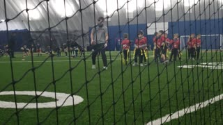 Bo Jackson flag 🏳 football 2021 practice 3