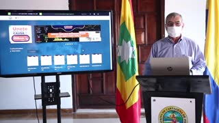 Alcaldía de Cartagena lanza mapa epidemiológico del COVID-19