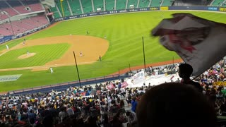 2018 Korea Baseball Stadium LG Twins Cheer