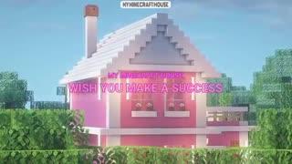 Minecraft Build Pink House