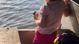 Little Miss Future Crawfishin Farmer