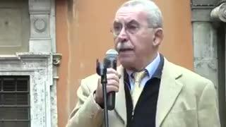 Ultimo discorso in diretta di Giulietto Chiesa.