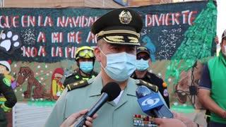 La Policía de Bucaramanga activó el 'Escuadrón Antipólvora'